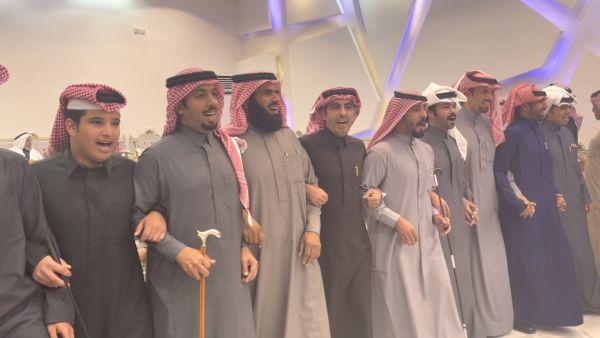 فرينسي حفل زواج صالح بن سالم المساعد بالخفجي